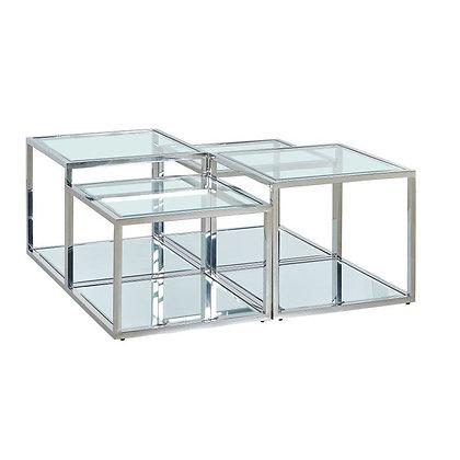 Set/4 Tavolini Orion By Kare