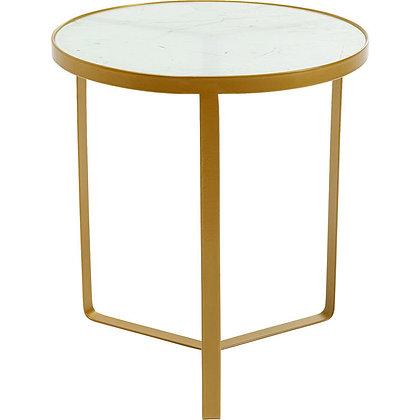 Tavolino Marble 45Ø  By Kare