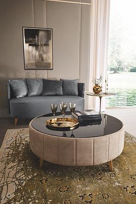 Tavolino Rotondo 69\110 By Richmond Design Barnini Oseo