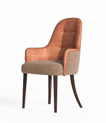 Sedia Curva con braccioli By Richmond Design Barnini Oseo