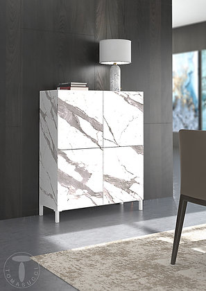 Madia Alta Eddy White Marble By Tomasucci