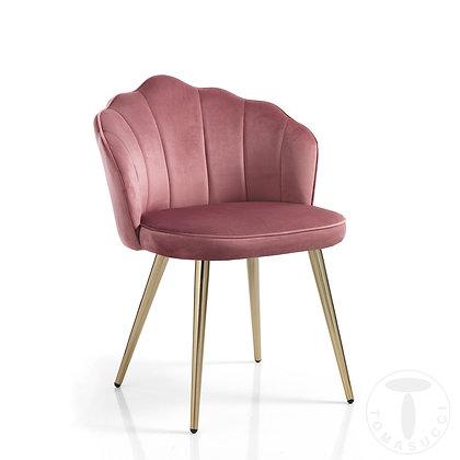 Sedia Shell-Pink By Tomasucci