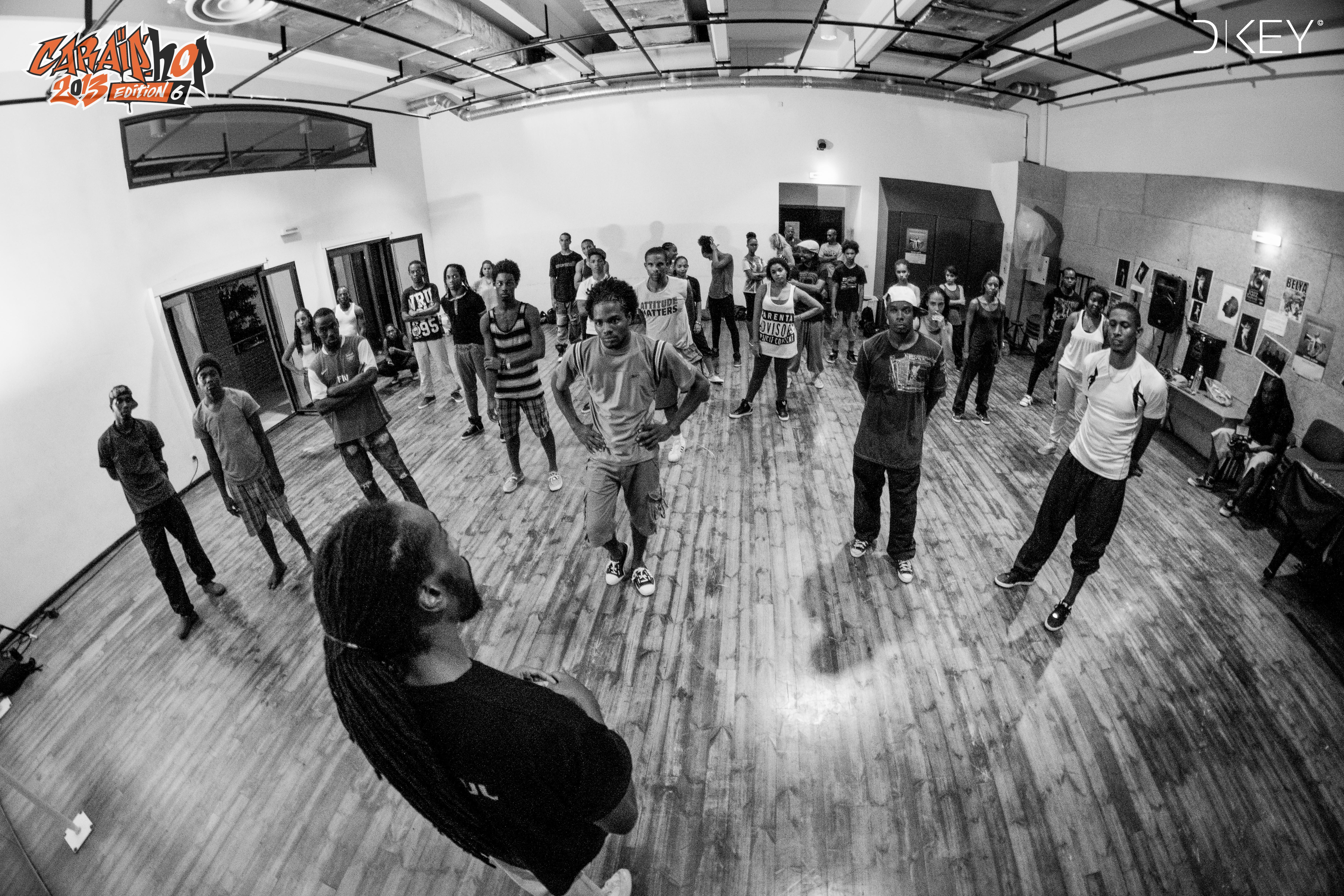 Masterclass Caraïp'hop édition 2013 Crédit Photo Dkey