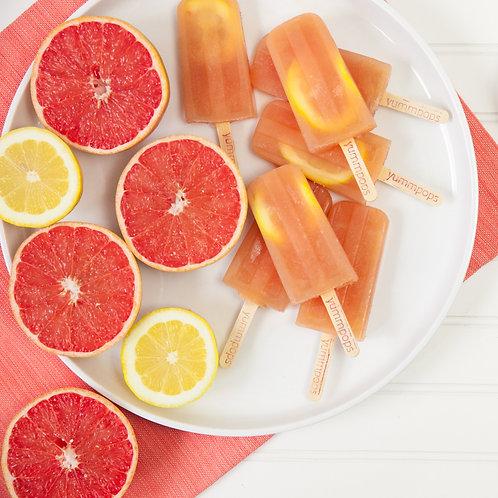 Grapefruit Lemon - Box- (6 Pops)