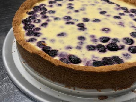 Finnish Blueberry Tart