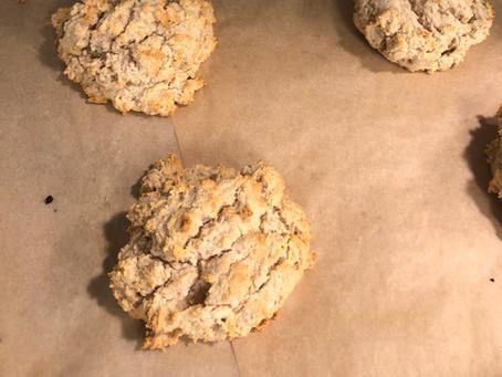 Buttermilk Biscuits (vegan, gluten-free, grain-free, sugar-free)