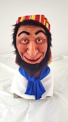 Smiling Pirate Latex Mask