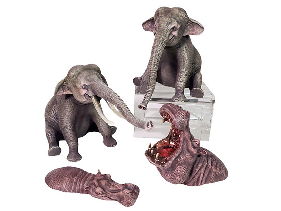 Jungle Animal Miniatures - Set of 4