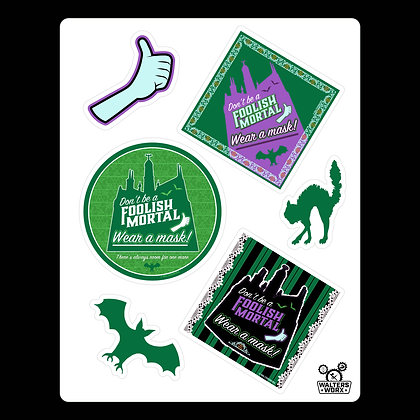 Spooky Safety Stickers-DW