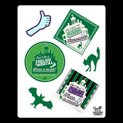 Spooky Safety Stickers-DL