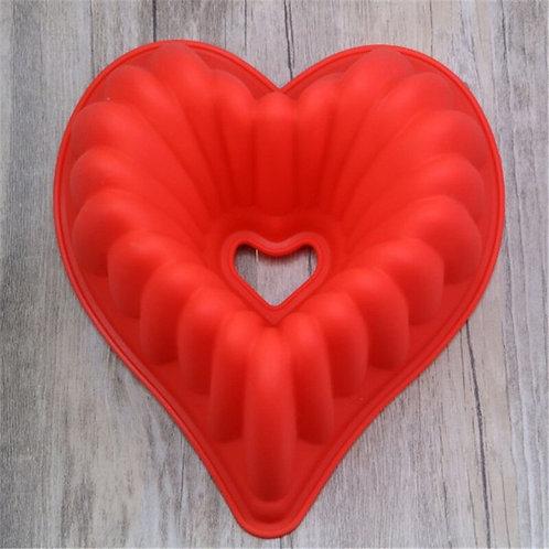 New Love Heart Shape Non Stick  Silicone Mold