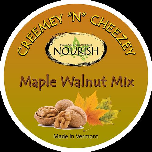 """Creemey """"N"""" Cheezey Maple Walnut - 8oz Jar"""