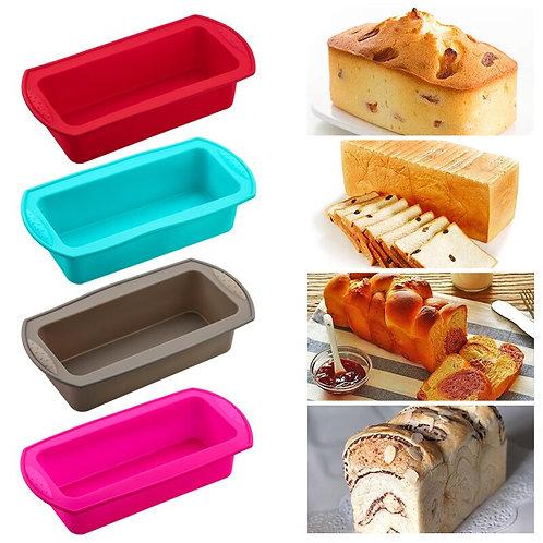 Rectangular Silicone Bread/Baking Pan - Varied Colors