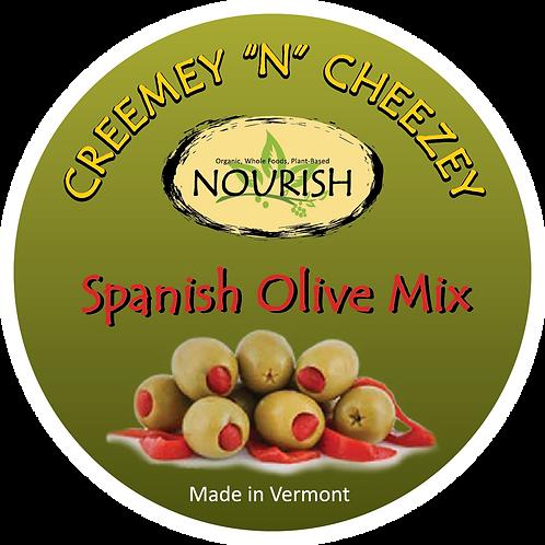 "Creemey ""N"" Cheezey Spanish Olive & Pimento - 8oz Jar"