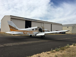 EFC piper warrior fire flights and scenic tours