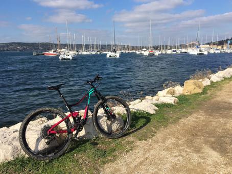 L'étang de Berre à vélo : une belle surprise !