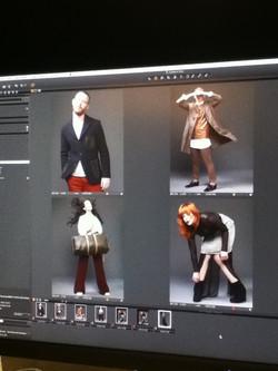 Behind the scenes of ELLE August2012