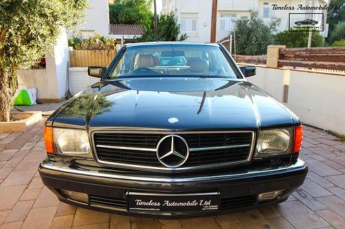 Mercedes-Benz 500SEC 1989 C126