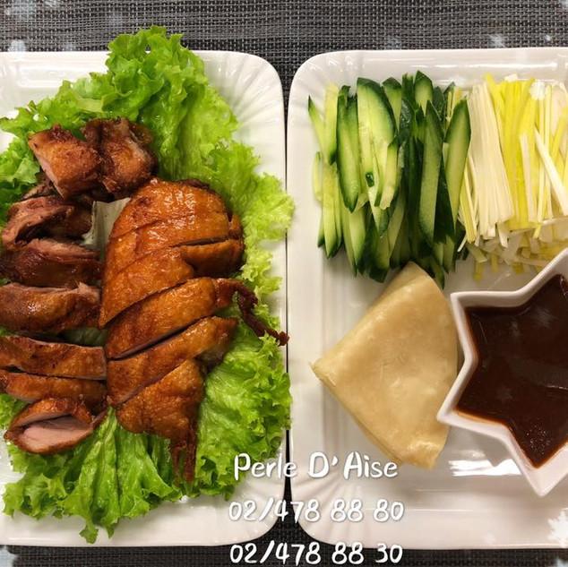 317 - Canard avec crêpes de riz