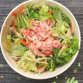 202 - Salade au crabe au parfum citronnelle
