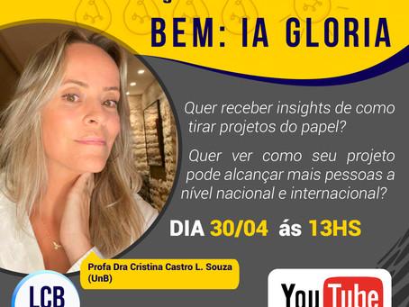 LCBNano | Seminário Aberto - Inovação Social do Bem: IA GLORIA