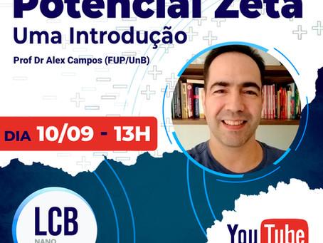 LCBNano   Seminário Aberto - Potencial Zeta: uma Introdução