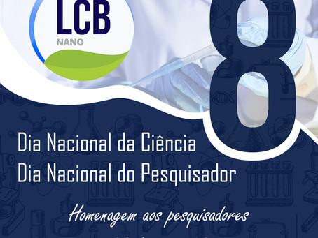 Dia 08 de Julho - Dia Nacional da Ciência e do Pesquisador