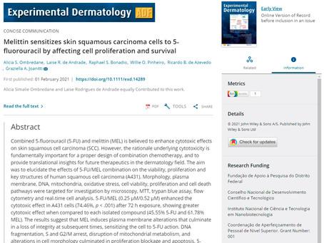 LCBNano e UnB - Artigo relacionado ao potencial de compostos bioativos na área biomédica!