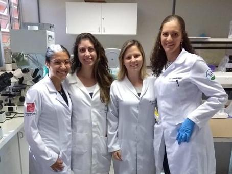 LCBNano em parceria com UNB e UFSJ para conclusão do TCC da aluna Maria Silva
