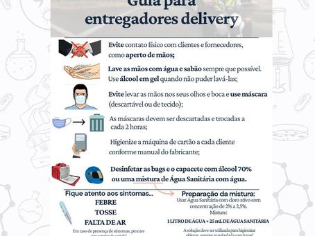 Covid-19: Guia Para Entregadores Delivery
