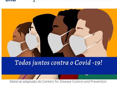 Covid-19: Faça sua máscara caseira!