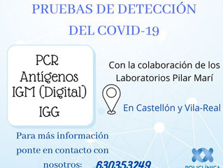 Pruebas COVID-19