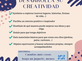 ¡Desarrolla la CREATIVIDAD!