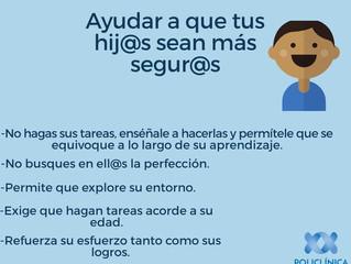 Hij@os seguros, ¿cómo?