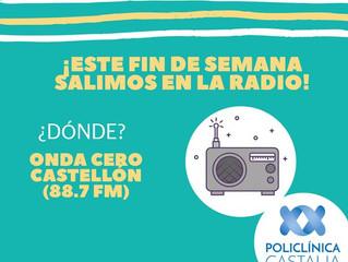 Este fin de semana salimos en @ondacerocastellon !!! Si nos queréis escuchar poned la 88.7 fm.