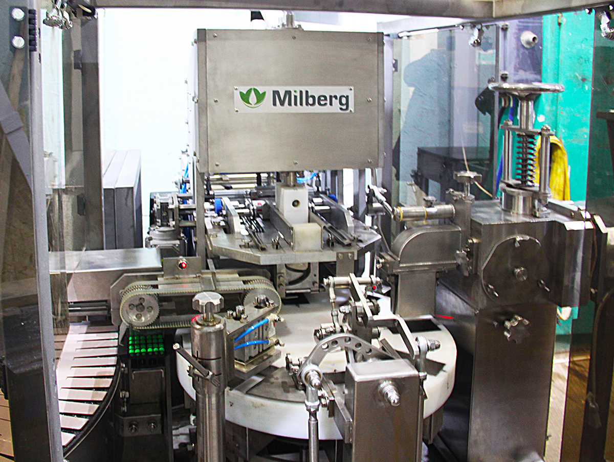 Автомат фасовки сливочного масла FMB 200 Милберг