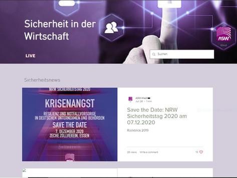 Update: Wirtschaftsschutz.nrw