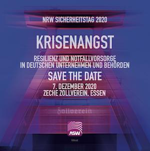NRW Sicherheitstag 2020 verschoben auf 2021