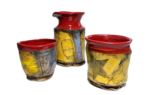 jars & stars & skillets - (3) set