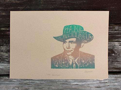 bronzed hank - print