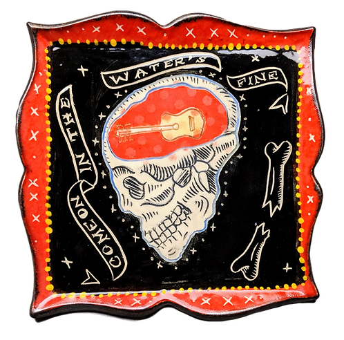 bone babe - plate