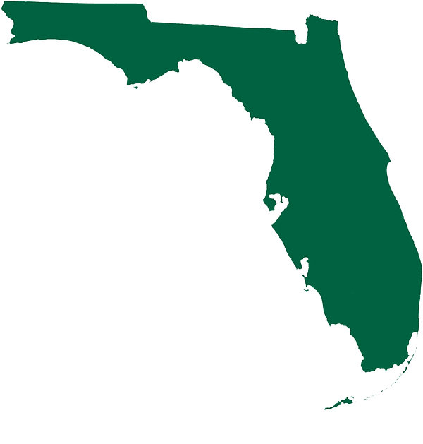 Green map of florida.jpg