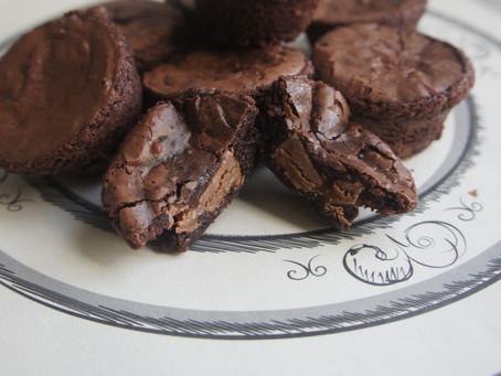 Rolo Brownie Bites