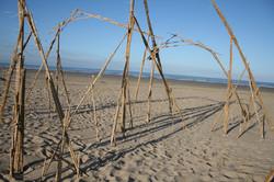 Cacando Carangueijo Bamboo