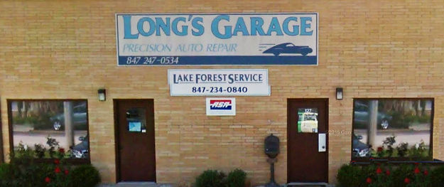 Long's Garage Store Front
