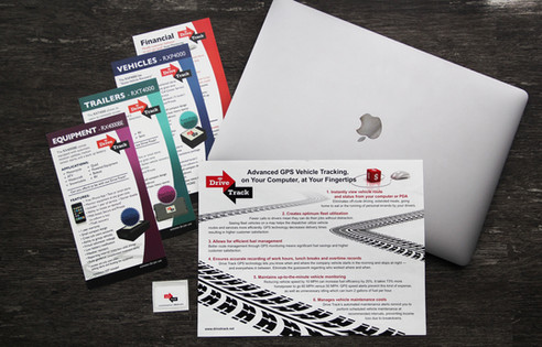 Drive Track Flyer and Brochures