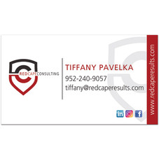 Red Cape Consulting Business Card