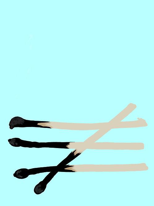 Four of Swords (8x10)