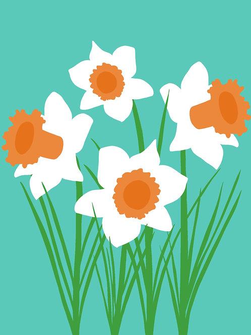Daffodils (8x10)
