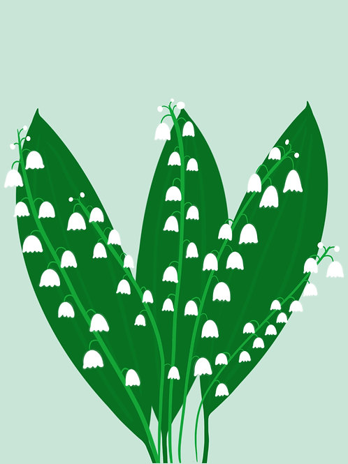 Lily-of-the-Valley (8x10)